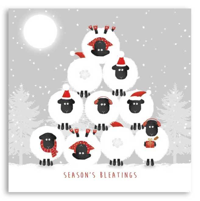 'Season's Bleatings' Christmas cards