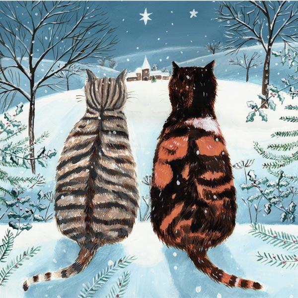'Cats' Christmas cards