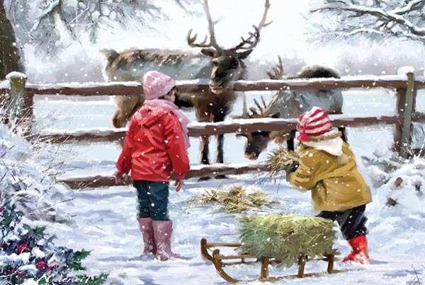 'Children' Christmas Cards