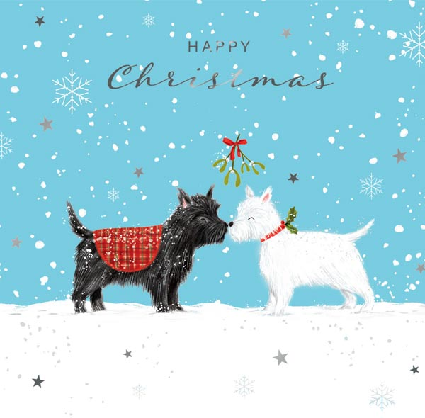 'Dogs' Christmas cards