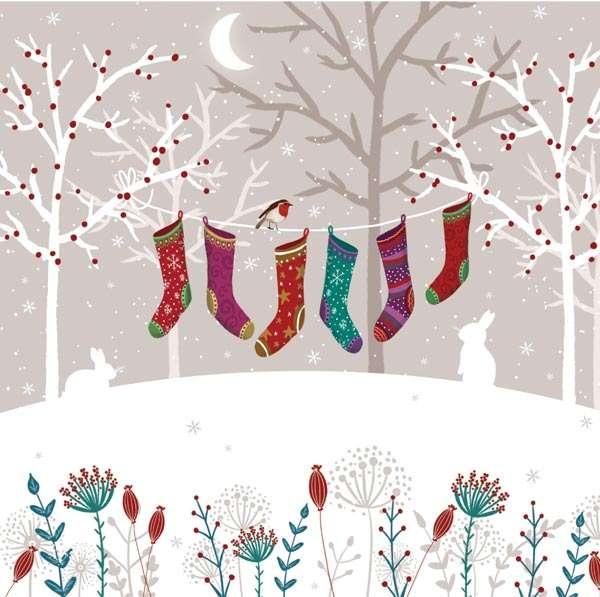 'Socks' Christmas cards